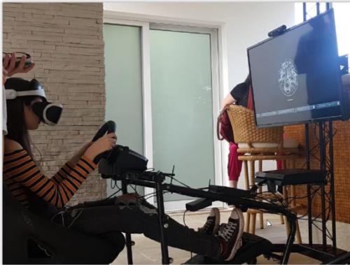KIT 7 – SIMULADOR DE CORRIDA / COCKPIT COM OCULOS VR